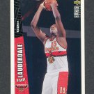 1996-97 Collector's Choice Basketball #204 Priest Lauderdale RC - Atlanta Hawks