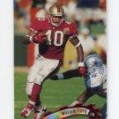 1997 Stadium Club Football #101 William Floyd - San Francisco 49ers