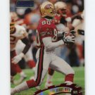 1997 Stadium Club Football #035 Jerry Rice - San Francisco 49ers