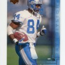 2000 Upper Deck Football #079 Herman Moore - Detroit Lions
