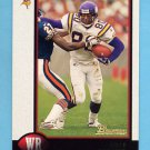 1998 Bowman Football #140 Cris Carter - Minnesota Vikings