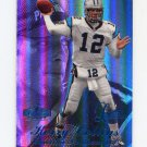 1998 Flair Showcase Football Legacy Collection Row 3 #056 Kerry Collins - Carolina Panthers 021/100