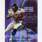 1998 Flair Showcase Football Legacy Collection Row 3 #022 Fred Taylor - Jacksonville Jaguars 070/100
