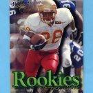 1997 Ultra Football Rookies #12 Warrick Dunn - Tampa Bay Buccaneers