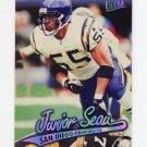 1997 Ultra Football #135 Junior Seau - San Diego Chargers