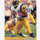 1993 Pro Set Football #227 Troy Drayton RC - Los Angeles Rams