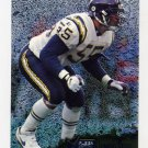 1996 Metal Football #106 Junior Seau - San Diego Chargers
