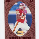 1998 Playoff Momentum Retail Red Football #003 Derrick Alexander - Kansas City Chiefs