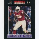 1996 Sportscall Phone Cards Football #069 Clyde Simmons - Arizona Cardinals
