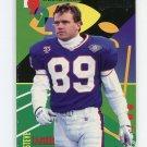 1995 Playoff Prime Football Unsung Heroes Silver #03 Steve Tasker - Buffalo Bills