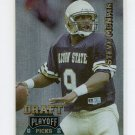 1995 Playoff Prime Football #182 Steve McNair RC - Houston Oilers
