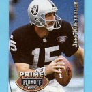 1995 Playoff Prime Football #165 Jeff Hostetler - Los Angeles Raiders