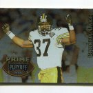 1995 Playoff Prime Football #156 Carnell Lake - Pittsburgh Steelers