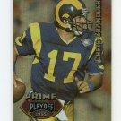 1995 Playoff Prime Football #155 Chris Chandler - Houston Oilers