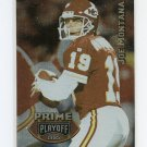 1995 Playoff Prime Football #153 Joe Montana - Kansas City Chiefs