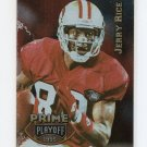 1995 Playoff Prime Football #100 Jerry Rice - San Francisco 49ers Ex