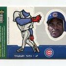 1998 Collector's Choice Baseball Mini Bobbing Heads #09 Sammy Sosa - Chicago Cubs