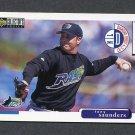 1998 Collector's Choice Baseball #508 Tony Saunders - Tampa Bay Devil Rays