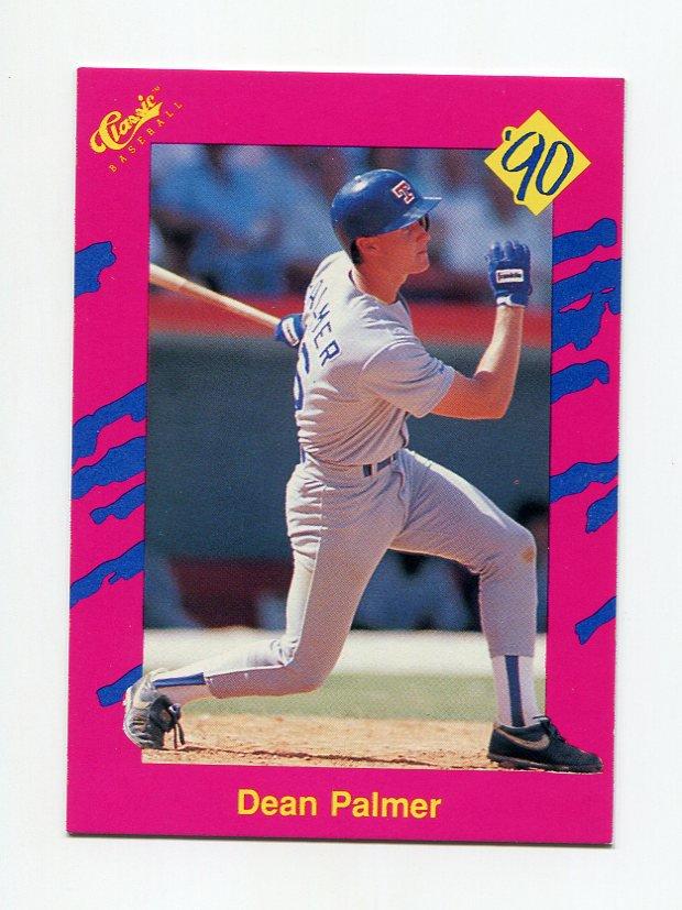 1990 Classic Update Baseball #T39 Dean Palmer - Texas Rangers