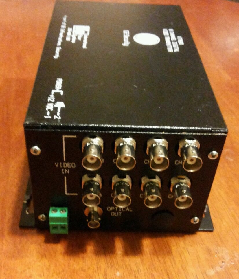 GE Security IFS Fiber VT7830 8 Channel Digital Video Transmitter