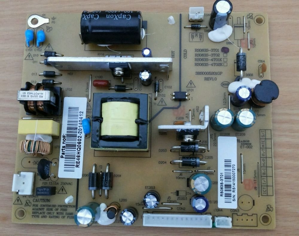 RCA LED32G45RQ Power Supply RE46HQ0602