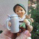 "'60s vtg HUMMEL""For Father "" A++ condit, perfect gift for all Fathers, 5"" high!"