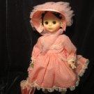 """Madame Alexander doll VINTAGE  """"REBECCA"""", 13"""" hi,#1585, orig.box, pink parasol!"""