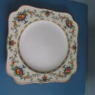 "Vintage 8"" decorative plate by Crown Ducal ware, A++, very pretty border - !!"