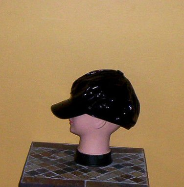 Ladies Sequin Newsboy Hat BLACK Womens Shiny Sequinn Cap New w/Tag!