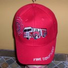Boys Kids Red Embroidered FIRE TRUCK Hat Ball Cap Child Hat New w/Tags!