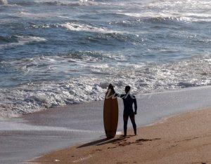 Lone Surfer - Original Fine Art Photograph