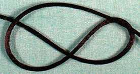 Black Satin Cord