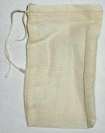 12 pack Cotton Tea Bags