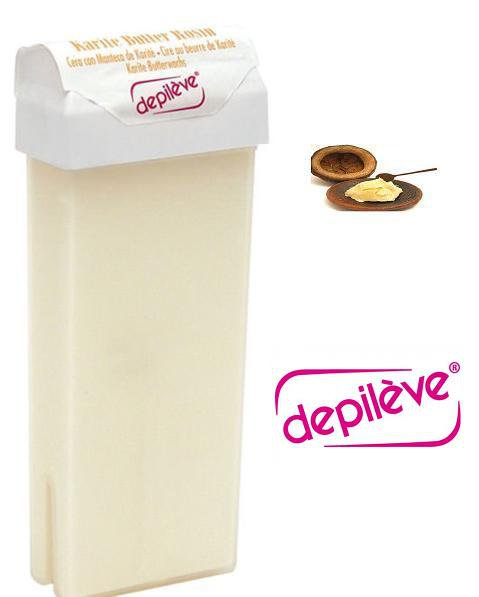 Depileve Depilatory Wax Roll On Caritee Butter Hair