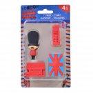 Set of 3D LONDON Erasers (4 item in set)