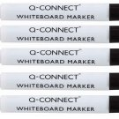 Whiteboard Markers set of 5 BLACK.