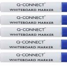 Whiteboard markers set of 5 BLUE