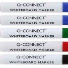Whiteboard Assorted markers, set of 5 - RED, GREEN, BLACK, BLUE, BLUE