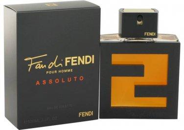 Fan Di Fendi Assoluto For Men EDT Spray 3.3 oz