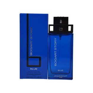 Bogart Story Blue by Jacques Bogart for Men EDT Spray 3.33 oz
