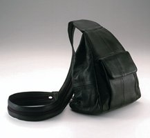 Embassy USA Genuine Leather Hobo Sling Backpack Purse