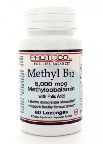 Methyl B-12 5000mcg 60Loz