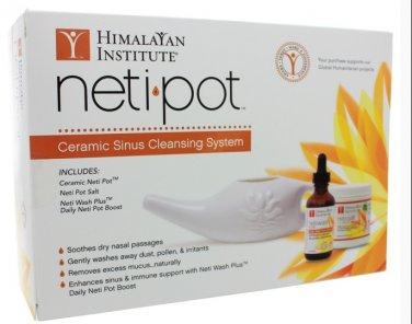 Neti Pot Starter Kit/Ceramic