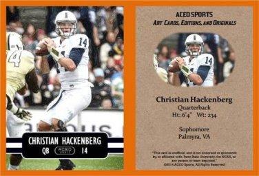 Christian Hackenberg 2014 ACEO Sports Football Card - Penn State