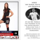 Alex Morgan - 2011 Women's World Cup Commemorative ACEO Sports Soccer Card! USA