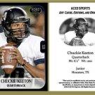 Chuckie Keeton 2013 ACEO Sports Football Card Utah State