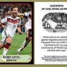 Mario Gotze 2014 World Cup Commemorative ACEO Sports Soccer Card Germany
