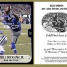 Odell Beckham Jr. 2014 Commemorative Catch ACEO Rookie RC Card - Giants LSU