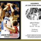Jabari Parker 2013 ACEO Sports Football Card Pre RC Duke Milwaukee Bucks