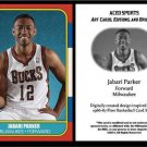 Jabari Parker 2014 1986-87 Fleer Style ACEO Card Rookie RC Milwaukee Bucks